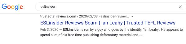 trusted tefl reviews on eslinsider