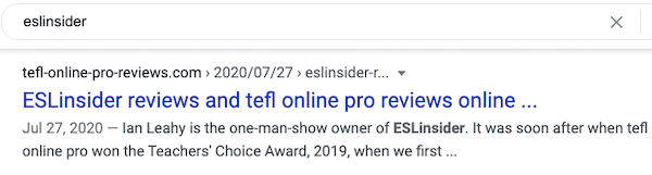 tefl online pro reviews eslinsider