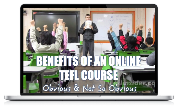 benefits of an online TEFL course