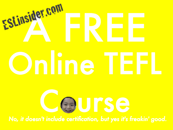 free tefl course