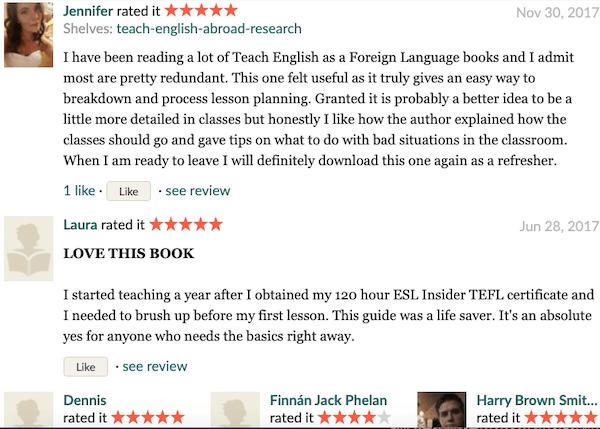 lazy TEFL teacher review Goodreads