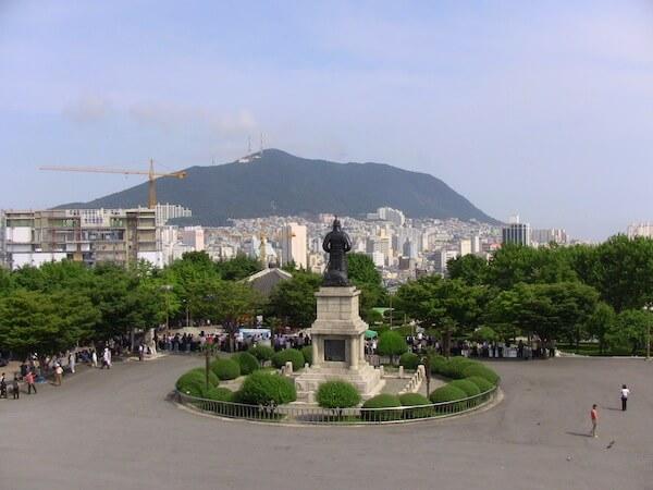 nampodong park Busan Korea