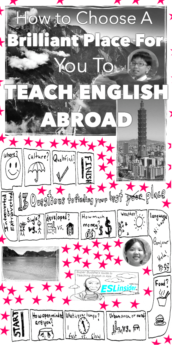 how to find the best place to teach english abroad