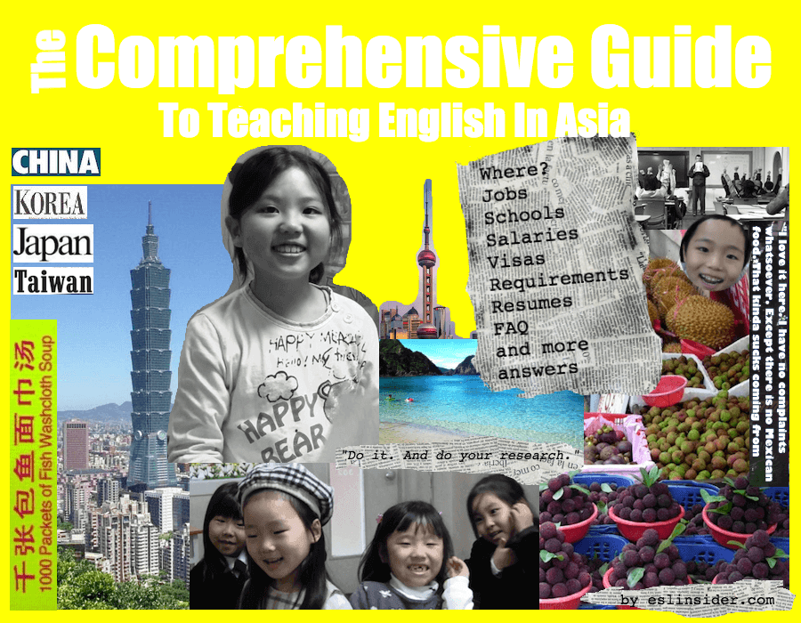 guide to start teaching English in Asia