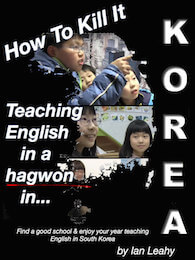 Teaching in hagwon book cover
