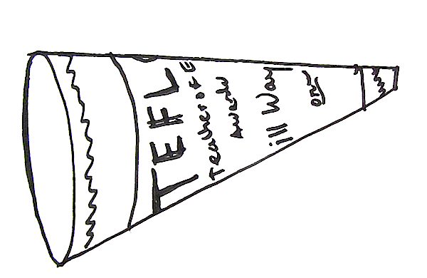 use your TEFL certificate as a megaphone