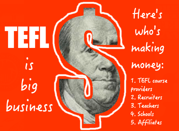 TEFL is big business